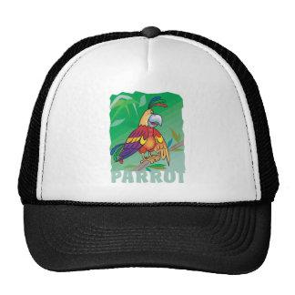 Friendly Parrot Trucker Hat
