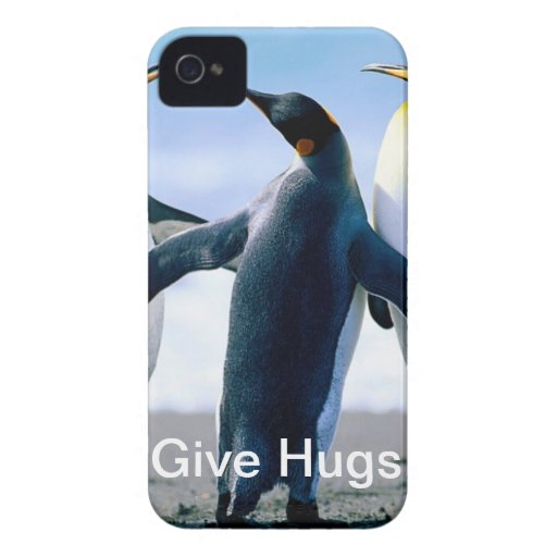Friendly Penguin iPhone 4 Covers