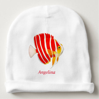 Friendly Peppermint Angelfish Baby Hat