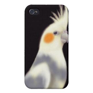 Friendly Pied Cockatiel Parrot Speck Case