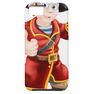 Friendly pirate and treasure map iPhone 5/5S case