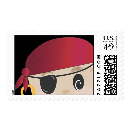 Friendly Pirate Postage