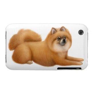 Friendly Pomeranian Dog iPhone 3 Case casematecase
