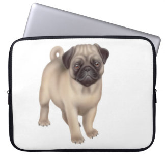 Friendly Pug Dog Electronics Bag