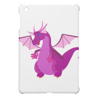 Friendly Purple and Pink Dragon iPad Mini Cases
