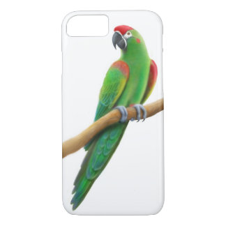 Friendly Red Fronted Macaw Parrot iPhone 7 Case