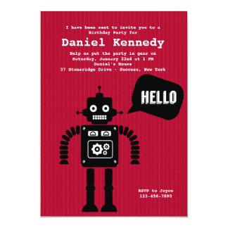 Friendly Robot Invitation