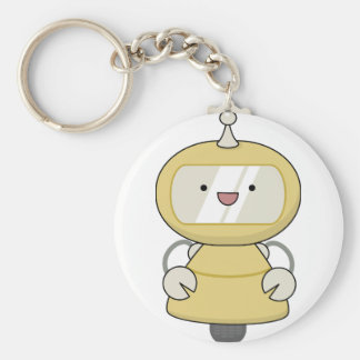 Friendly Robot Keychain