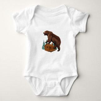 Friendly Savage Baby Bodysuit