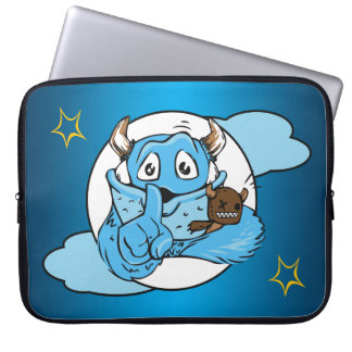 Friendly Shush Monster Laptop Sleeve