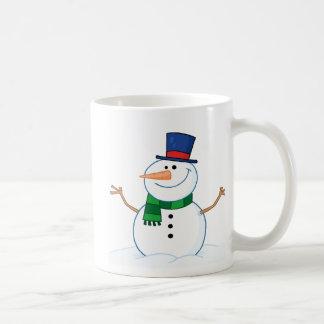 Friendly Snowman Coffee Mug