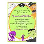 Friendly Spooks Kids Halloween Party Invitation