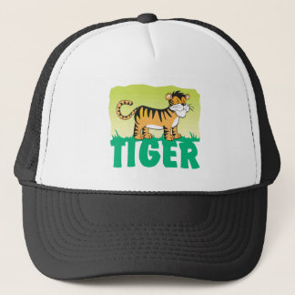 Friendly Tiger Trucker Hat