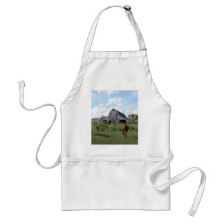 Friendly Welcome Adult Apron