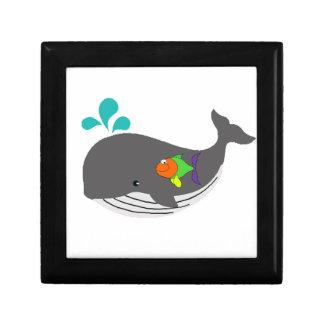 Friendly Whale Keepsake Box