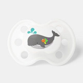 Friendly Whale Pacifier