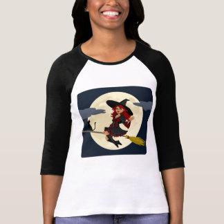 Friendly Witch Waving T-Shirt