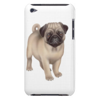 Friendly Young Pug Dog iPod Touch Case