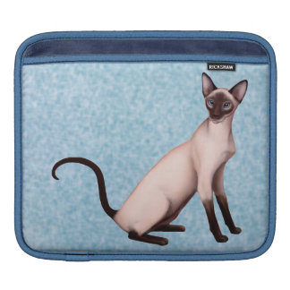 Friendly Young Siamese Cat iPad Sleeve