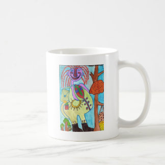 Friendly Zooka Classic White Coffee Mug