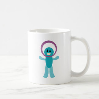 FriendlyAliensA12 Classic White Coffee Mug
