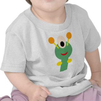 FriendlyAliensA7 Camisetas