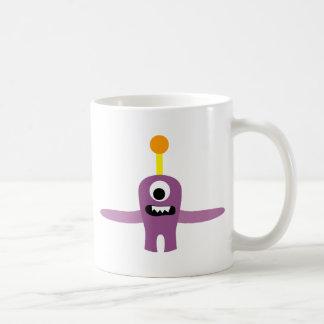 FriendlyAliensA9 Classic White Coffee Mug