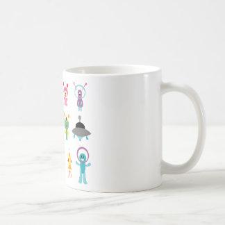 FriendlyAliensA Classic White Coffee Mug