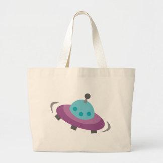 FriendlyAliensB11 Canvas Bags