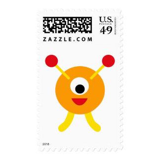 FriendlyAliensB2 Stamps