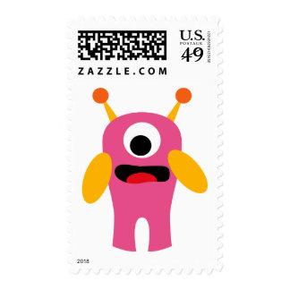 FriendlyAliensB9 Postage Stamp