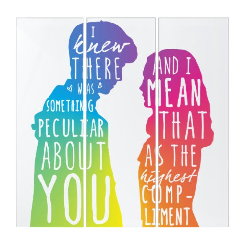 Friends AcryliPrint®HD Triptych Wall Art