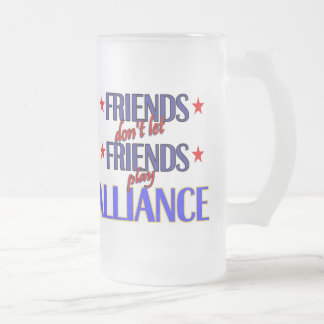 Friends Alliance Frosted Mug