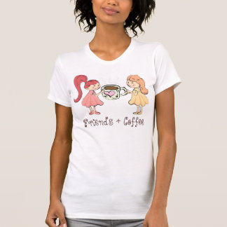 Friends and Coffee t-shirt