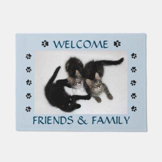 Friends and Family Kitten Doormat