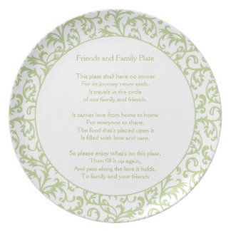 Friends and Family Plate