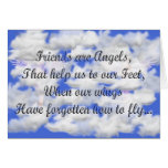 Friends are Angels Card