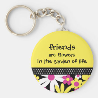 friends are flowers - The LISA collection Keychains