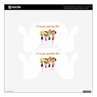 friends are for life PS3 controller decals