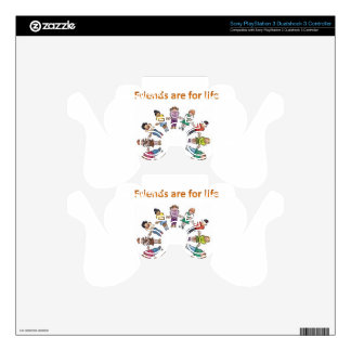 Friends are for life skins for PS3 controllers