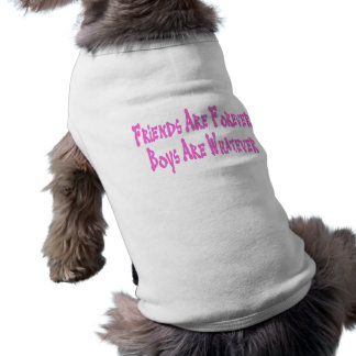Friends Are Forever Boys Are Whatever Shirt