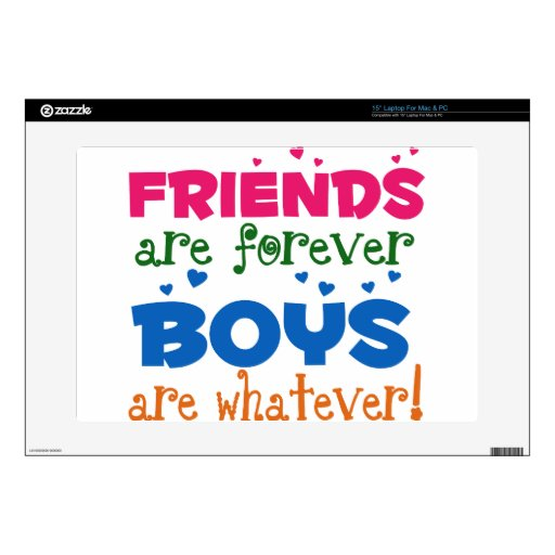 Friends are Forever Laptop Skin