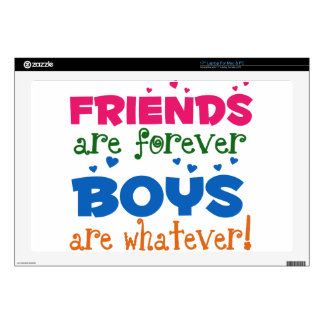 """Friends are Forever Decals For 17"""" Laptops"""