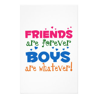 Friends are Forever Stationery Design