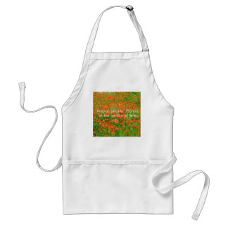 Friends Are Like Flowers Adult Apron