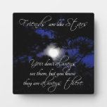 """Friends are Like Stars"" Lovely Friendship Gift Display Plaque"