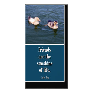 Friends Are... Photo Card