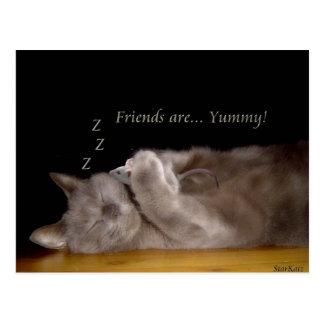 Friends are postcard