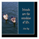 Friends Are... Poster