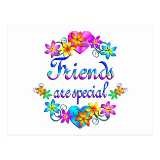 Friends are Special Postcard